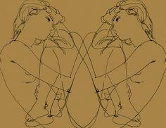 Ed Hodgkinson / Narcissus, Perlgold / enamel on aluminium / 120 x 160 cm