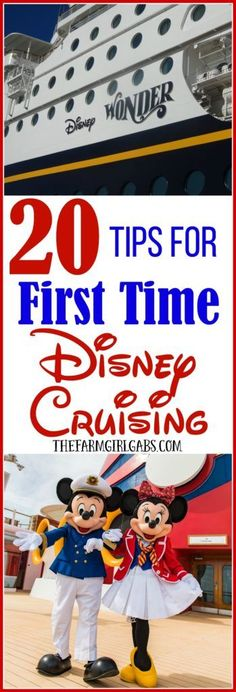 Ready to set sail on your first Disney cruise? Before you cast off, check out these 20 Tips For First Time Disney Cruising.
