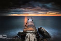 GLORY IN THE MORNING by lothar_adamczyk  ND beach beautiful beauty blue clouds colors exposure fehmarn germany glory hue landscape light long