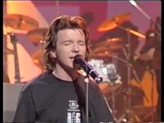 Rick Astley - Cry For help (Live on TV HQ) Beautiful, Glad he's Back