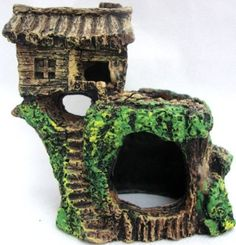 Yes, it's an aquarium ornament but I already have aquarium bridges scattered for my fairies to meander through my rockery