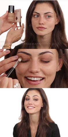Best Celebrity Makeup Tutorials - A Bronzed Going-Out Makeup Look With Phoebe Tonkin - Step By Step Youtube Videos, Tips and Beauty Secrets From All the Top Celebrities Like Kylie Jenner, Taylor Swift and Ariana Grande - Hair Style Ideas, Eyeliner and Eyebrow Tricks and How To Get Perfect Kat Von D Hairstyles - thegoddess.com/celebrity-makeup-tutorials