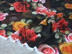 Купить -15% D&G шелковый крепжоржет, Италия в интернет магазине на Ярмарке Мастеров