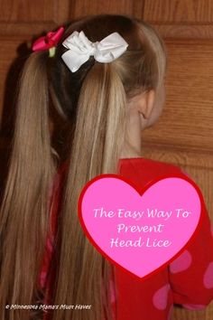 The Easy Way To PREVENT Head Lice - Minnesota Mama's Must Haves
