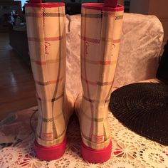 coach rain boots authentic gently used Coach Shoes Winter & Rain Boots