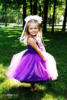 2014 Halloween Costume RAPUNZEL dress TUTU style dress for  children toddlers and girls fun for special occasion or birthday party costume