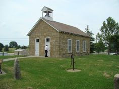 Kansas One Room Schoolhouses: Dobbs School relocated to the Emporia State University Campus
