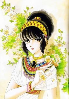 "Artwork from ""Anatolia Story"" series by manga artist Chie Shinohara."