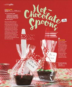 Hot Chocolate Spoons - Bake Sale