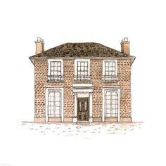 264. Balconette House | Rebecca Horne, illustration
