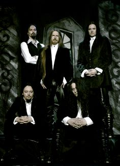 My Dying Bride. I remember my dad playing them when i was a kid. Haha memories<3