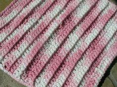 retromummy: quick crochet washcloth
