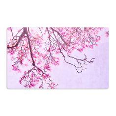 Kess InHouse Iris Lehnhardt 'Magnolia Trees' Pink Branches Artistic Magnet