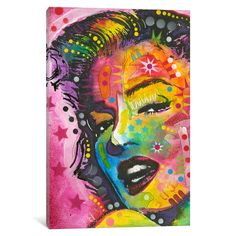17 by Dean Russo Graphic Art on Canvas