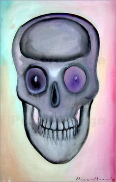 Diego Manuel Rodriguez - Skull with perfect teeth