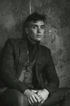 Cillian Murphy black and white