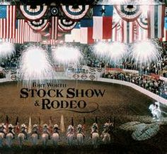 Great memories with my dad here. Our special time. Fort Worth Stock Show and Rodeo