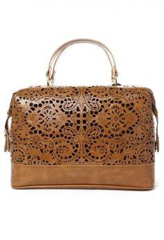 cutout satchel $49!