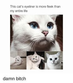 Because you know that pretty much anyone can handle liquid liner better than you ever could. | 21 Things People Who Love Makeup, But Suck At It, Will Understand