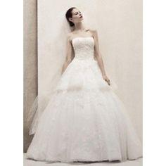 Oleg Cassini CWG407 Size 8 Soft White $350