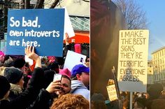 33 Signs From The Women's March That Will Make You Laugh Harder Than You Should