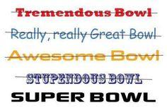A super name for the Super Bowl - The Boston Globe