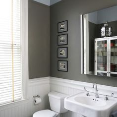 Wainscoting Small Bathroom Design, Pictures, Remodel, Decor and Ideas