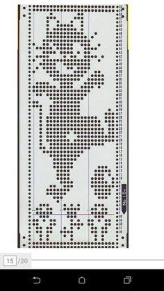 Iloinen kissa Knitting Machine Patterns, Fillet Crochet, Christmas Crochet Patterns, Fair Isle Pattern, Crochet Diagram, Shibori, Crochet Stitches, Cross Stitch, Fabrics