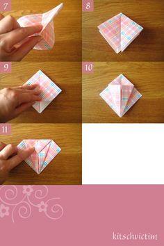 Origami Kraniche Tutorial - Teil 2