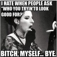 *blows kiss to reflection in mirror* | 19 Things People Who Wear Makeup Are Tired Of Hearing
