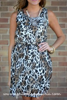 Leopard dress will be available next week online!