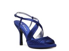 These were my wedding shoes! Blue Lulu Townsend Romeo evening sandal $40