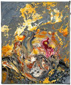 Maggi Hambling. Victim 30, 2014. Oil on canvas, 12 x 10 in. © Maggi Hambling…