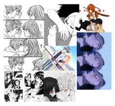 """""""Anime  Couple"""" by myadoughty45 ❤ liked on Polyvore featuring S.W.O.R.D."""