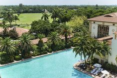 Biltmore Hotel Miami Coral Gables: Old world luxury, massive outdoor pool, James Beard-nominated chef. Miami Beach, Coral Gables Country Club, Outdoor Pool, Outdoor Decor, Downtown Miami, Spanish Colonial, Ideal Home, Swimming Pools