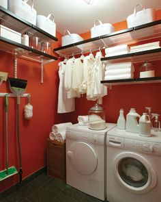Laundry Room - with the Container Store