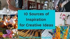10 Sources of Inspiration for Creative Ideas- Real Artists Don't Starve by Jeff Goins– And Free Video Course. Creativity, Motivation     DiscoverCreateInspire.com