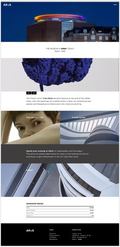 ARoS Aarhus Kunstmuseum by Thorbjørn Gudnason, via Behance