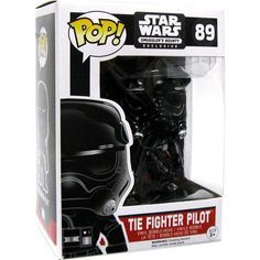 Star Wars Tie Fighter Pilot (Chromed) POP! Bobble-Head (#89)