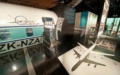 November 19, 2015, Air New Zealand 75th anniversary exhibition, Auckland War Memorial Museum, New Zealand. (Photo/Ross Land)