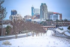 Snowstorm in Raleigh