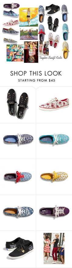 """Taylor Swift Keds 2"" by abbybeaumont ❤ liked on Polyvore featuring Keds"