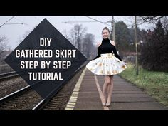 DIY Gathered Skirt Step-by-Step Tutorial/ Riasená sukňa krok za krokom (. Copyright Music, Gathered Skirt, Music Songs, Couture, Diy Clothes, Ballet Skirt, Tutorials, Buenas Ideas, Skirts
