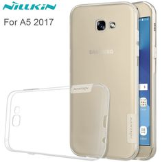 >> Click to Buy << Nillkin Ultra Thin Transparent Clear Soft Silicon TPU Case For Samsung Galaxy A5 2017 A520F 5.2inch Back Cover mobile phone bags #Affiliate