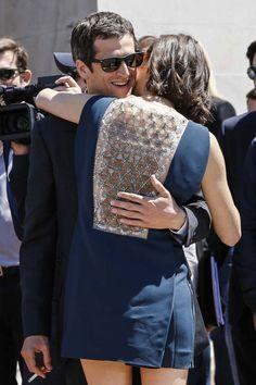 20 moments forts qui ont marqué le Festival de Cannes Marion Cotillard et Guillaume Canet, main dans la main (2013)© Getty