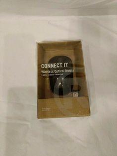 RadioShack 2.4 GHz Wireless Optical Mouse (Matte Black) #Logitech
