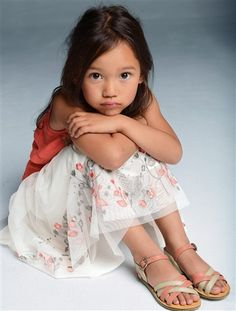 Nu-pieds fille FUSHIA+ROSE POUDRE+BEIGE MULTICO - vertbaudet enfant