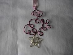 Dark pink fuchsia ornament or suncatcher by KatKeRosCorner on Etsy, $15.00 #handmade