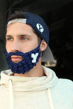 BYU Fan Beard- You can have this AND comply with the honor code # winning