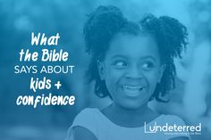 Healthy self-esteem in a child's life must be rooted in Jesus and His Word. Use the Bible to help build a child's self esteem!